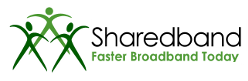 Sharedband logotype